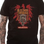 Bleeding Through T Shirt