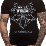 Walls of Jericho T Shirts